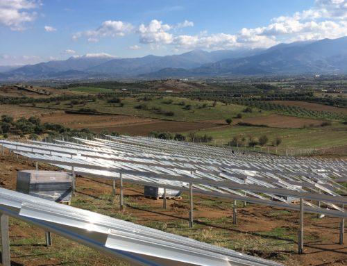 Zonne-energie voor de Egeïsche regio