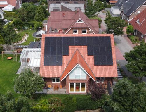 PV-Anlage für ein Einfamilienhaus in Nordhorn